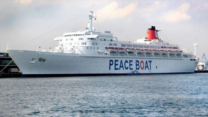 El Crucero por la Paz, portando mensajes de paz, amor y contra las armas nucleares, atracó en el puerto de La Habana en su 17.ª visita a Cuba en 2017.