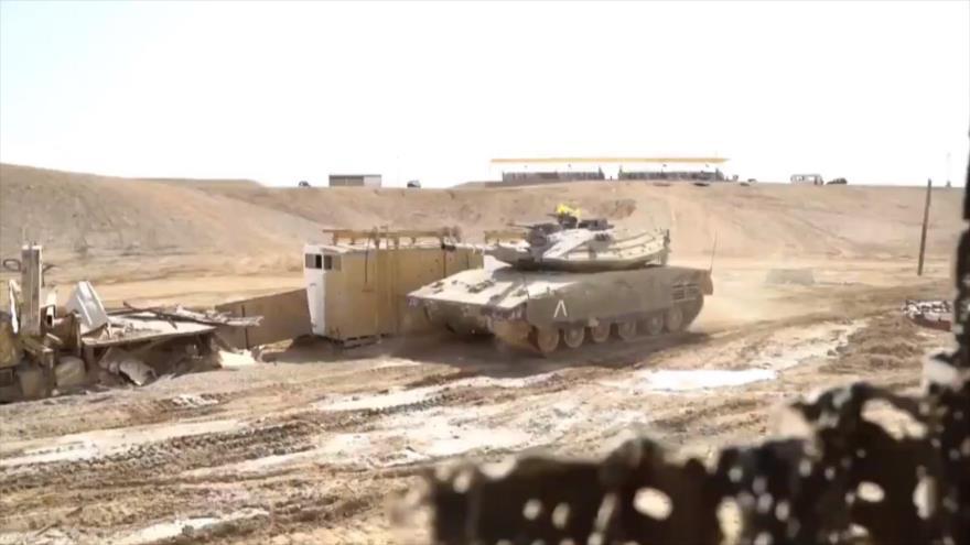 Vídeo: Ejército israelí simula toma de una aldea en El Líbano