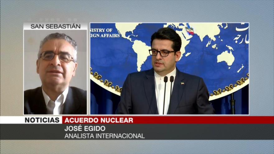 Egido: Macron comparte con Trump visión sobre pacto nuclear iraní
