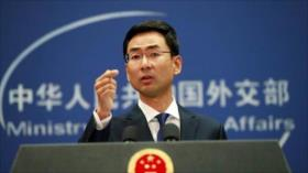 China atribuye a 'intervención exterior' protestas en Hong Kong