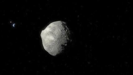 Se aproxima a la Tierra un asteroide del tamaño de cancha de fútbol