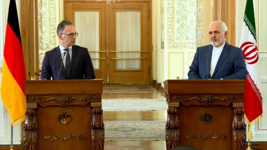 Ministros de Exteriores de Irán y Alemania se reúnen en Teherán