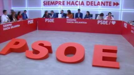 PSOE rechaza un Gobierno de coalición con Podemos en España
