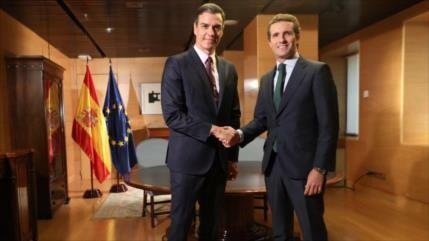 PP también rechaza apoyar investidura de Sánchez como presidente