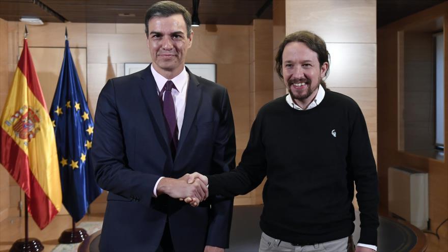 España: Sánchez e Iglesias negociarán un Gobierno de cooperación   HISPANTV