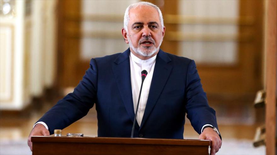 El canciller de Irán, Mohamad Yavad Zarif, habla en una conferencia de prensa en Teherán, capital persa, 10 de junio de 2019. (Foto: AFP)