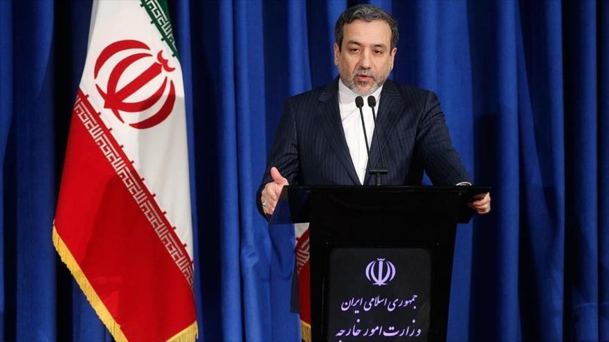 El viceministro iraní de Exteriores para Asuntos Políticos, Seyed Abás Araqchi.