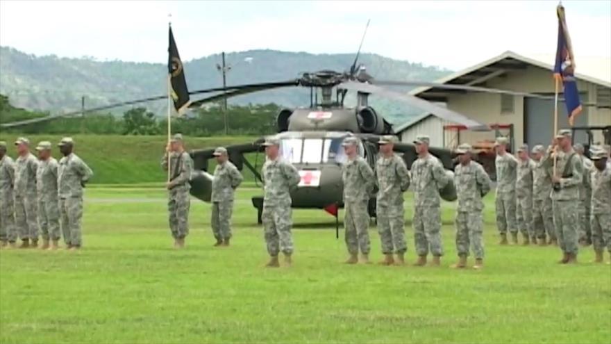300 infantes de la Marina de EEUU llegan a Honduras