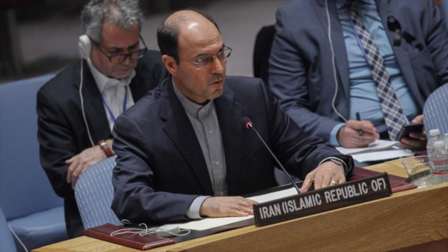 El viceministro de Asuntos Legales e Internacionales de la Cancillería iraní, Qolam Hosein Dehqani.