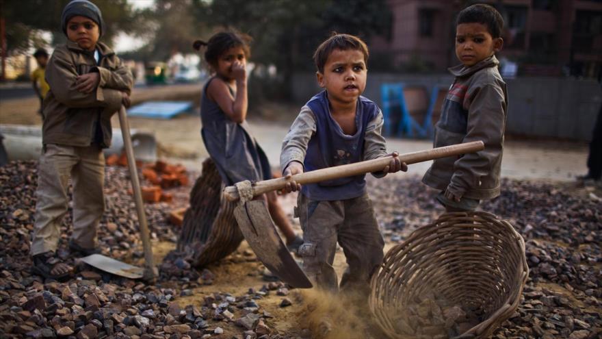 Unos 152 millones de niños son explotados a nivel mundial.