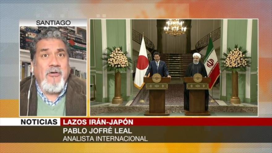 Jofré Leal: Japón podría ayudar a salvar el acuerdo nuclear