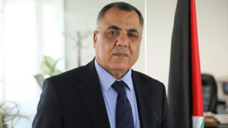 Ibrahim Melhem, un portavoz de la Autoridad Nacional Palestina (ANP).