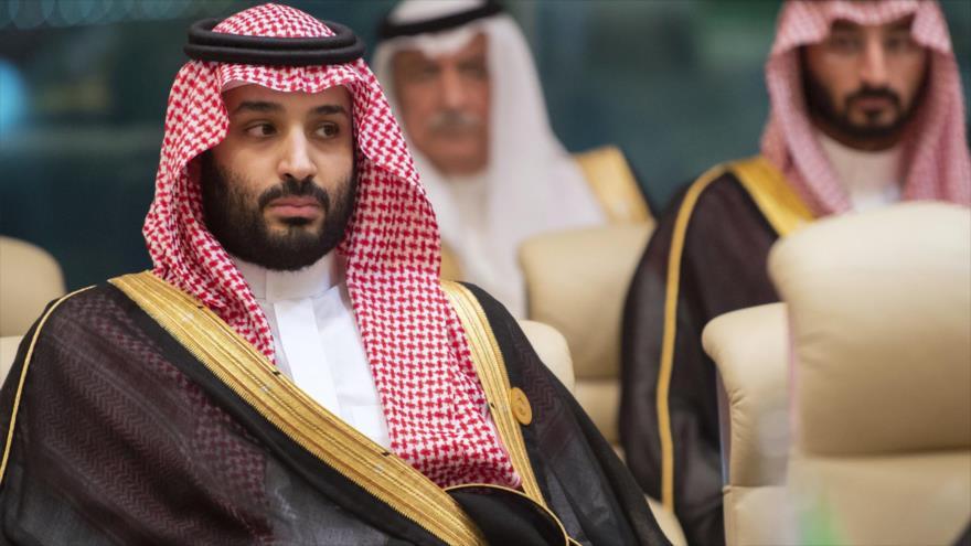 El príncipe heredero saudí, Muhamad bin Salma Al Saud, en una reunión en la ciudad de La Meca, 31 de mayo de 2019. (Foto: AFP)