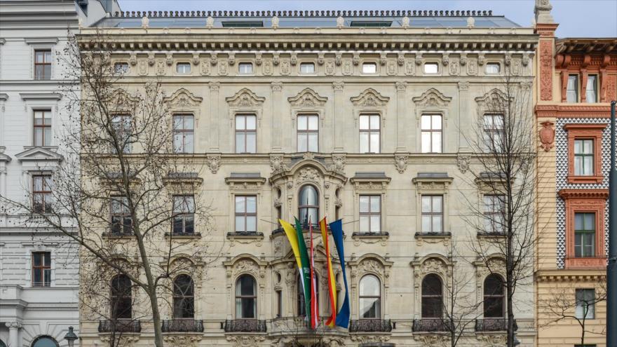 El edificio del Centro Internacional de Diálogo Interreligioso Rey Abdolá bin Abdulaziz (KAICIID), sito en Viena, capital austriaca.