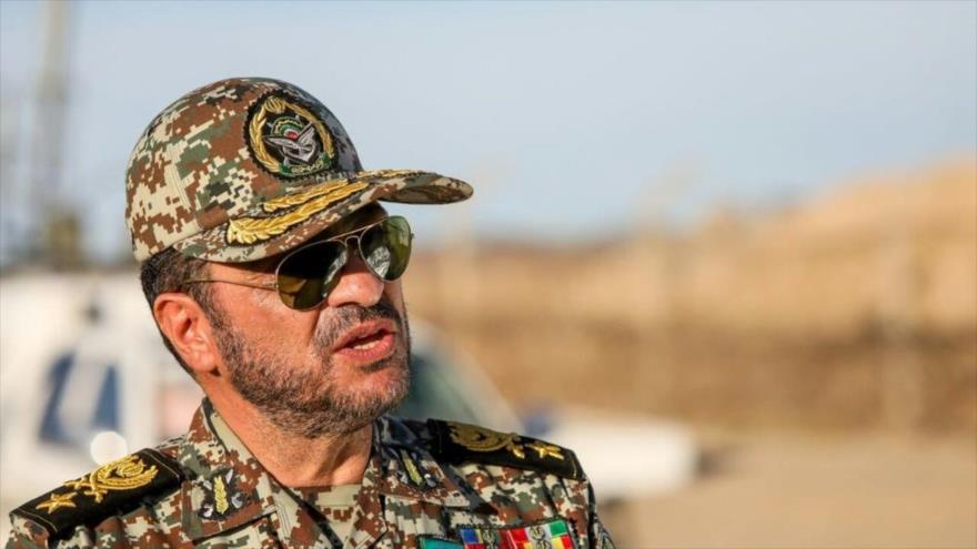 El comandante de la Fuerza de Defensa Antiaérea del Ejército iraní, el general de brigada Alireza Sabahifard.