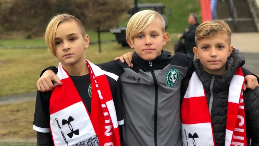 Jugadores menores de edad del club de fútbol inglés Southampton FC.