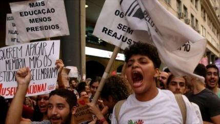 Copa América de Brasil coincide con huelga contra Bolsonaro