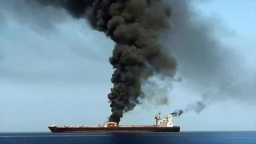 Irán rechaza infundios de EEUU sobre incidentes en el mar de Omán | HISPANTV
