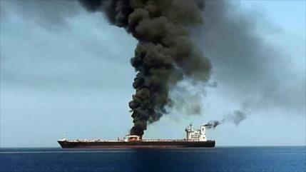 """Irán rechaza postura """"alarmante"""" de EEUU sobre petroleros quemados"""
