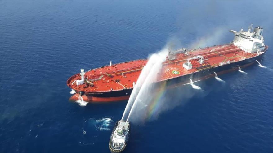 'EEUU e Israel, detrás de incendios en el mar de Omán' | HISPANTV