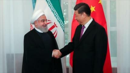 Rohani: Resistencia de Irán y China ante EEUU beneficia al mundo