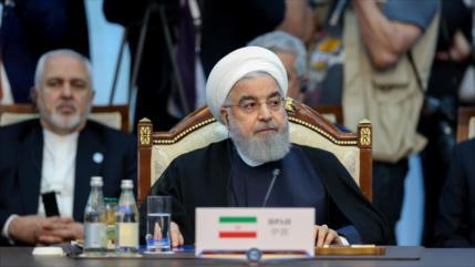 Rohani: EEUU es una seria amenaza para la estabilidad mundial