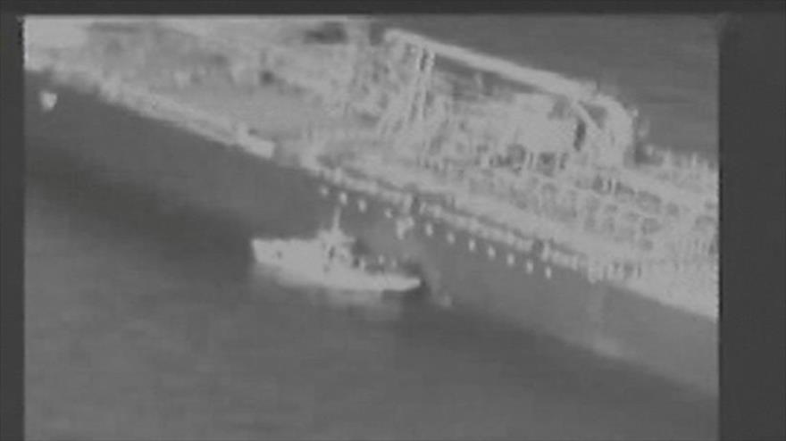 EEUU difunde un vídeo para acusar a Irán de ataque a petroleros