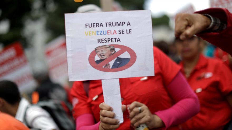 'Sanciones de EEUU pretenden estrangular al pueblo venezolano' | HISPANTV