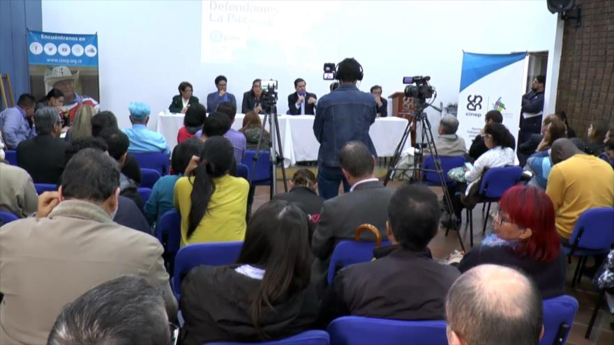 Se crea movimiento internacional para defender la paz en Colombia