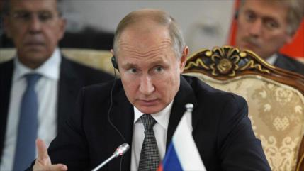 Putin: Prioridad de Rusia es eliminar focos terroristas en Idlib