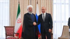 Rohani recuerda apoyo constante de Irán a la paz en Oriente Medio