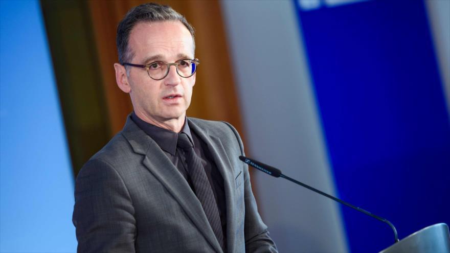 El ministro de Asuntos Exteriores de Alemania, Heiko Maas, en Berlín, la capital alemana, 13 de junio de 2019. (Foto: AFP)
