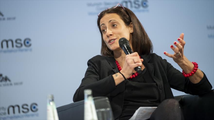 Nathalie Tocci, asesora de la jefa de la Diplomacia europea, Federica Mogherini.