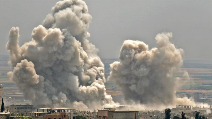 Aviaciones de Siria y Rusia atacan a terroristas en Idlib y Hama | HISPANTV