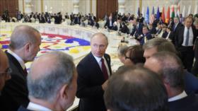 """Putin repudia guerras económicas para """"eliminar a los rivales"""""""