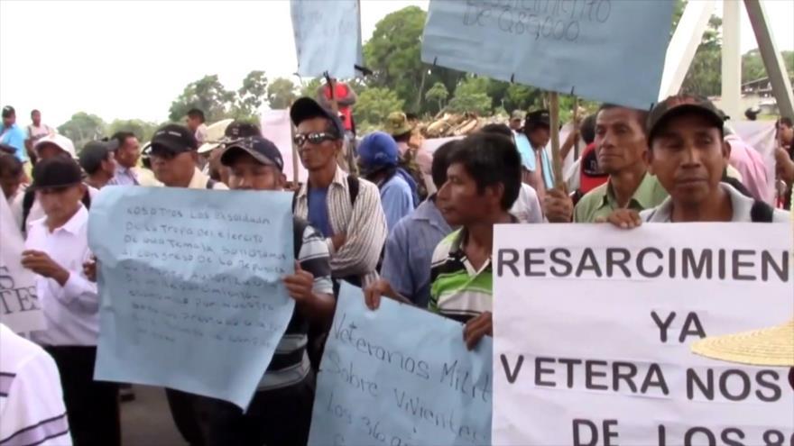 Exmilitares de Guatemala amenazan con boicotear las elecciones
