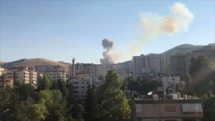 Se produce una explosión en una zona militar de Damasco