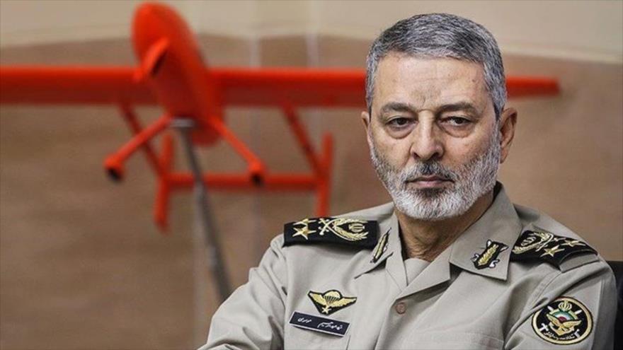 El general de brigada Abdul Rahim Musavi, comandante en jefe del Ejército de Irán.