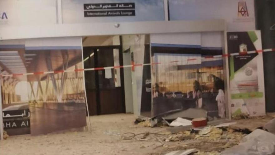 Drones yemeníes atacan aeropuertos saudíes de Abha y Jizan | HISPANTV