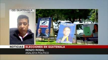 Rosal: El proceso electoral de Guatemala es muy superficial