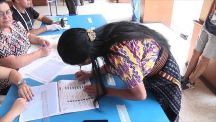 Elecciones generales en Guatemala se realizan con escepticismo