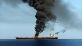 'Israel, Arabia Saudí y EEUU, detrás de ataque a buques petroleros'