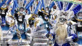Bolivianos celebran fiesta del Gran Poder con alegría y música