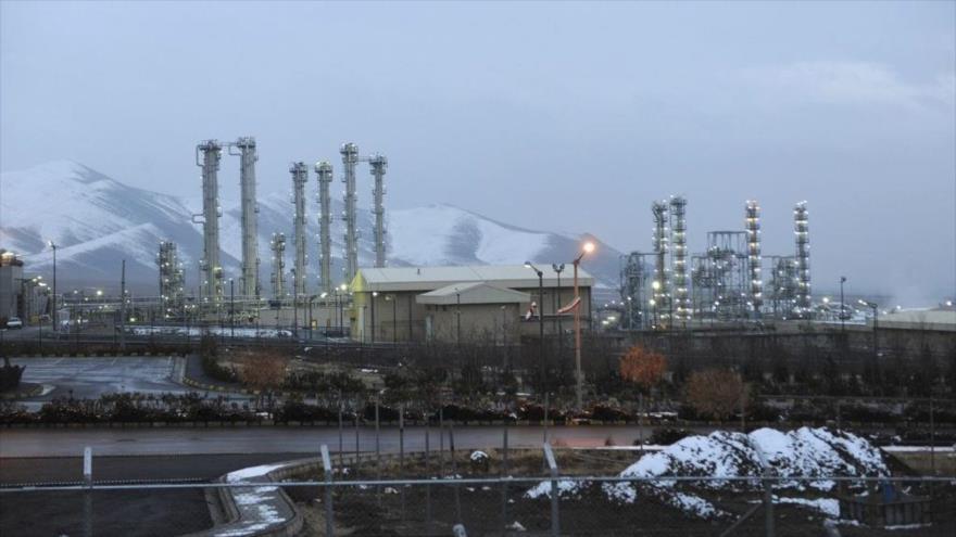 La instalación del reactor de agua pesada cerca de de la ciudad de Arak, Irán.
