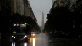 Un apagón histórico deja sin luz a toda Argentina y Uruguay