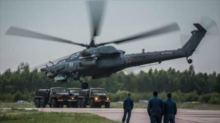 Rusia prueba un nuevo y potente helicóptero de combate en Siria