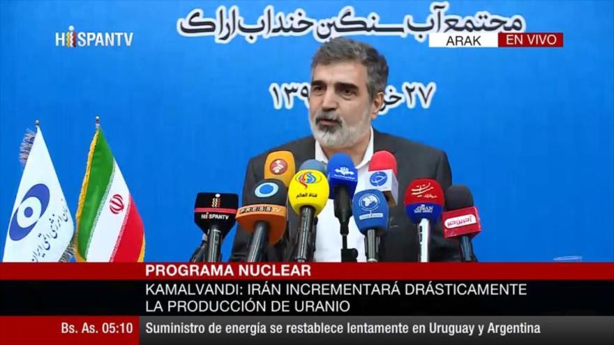 Irán superará límite de reservas de uranio dentro de 10 días | HISPANTV