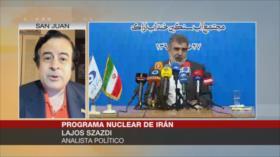 Szászdi: Unión Europea no salvará el pacto nuclear por temor a EEUU