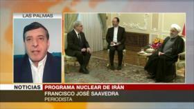 Saavedra: Trump presiona a Europa para que no salve pacto nuclear