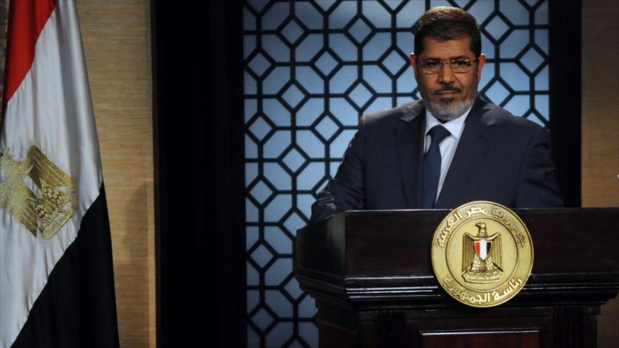 Fallece expresidente egipcio Muhamad Mursi en un tribunal